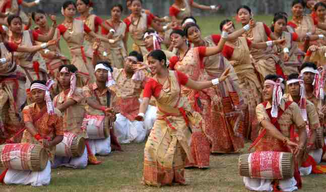 Festivals of Assam, the Bihu Dance form of Assam, Ecotourism homestay in Guwahati, Assam Eco tourism and homestay cottages