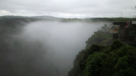 Nohkalikai or 'Fall of Likai' is India's tallest plunge waterfall at the Wettest place on planet Earth i.e. Cherrapunjee