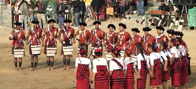 Nagaland Festival Tourism, Hornbill Festival of Nagaland, Tour of tribes and festivals of North East India, Traditional Festivals of North East India