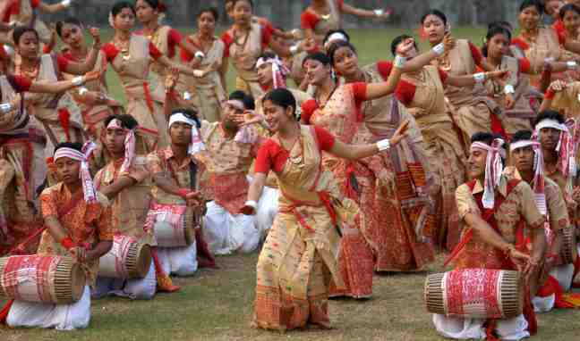 Bihu celebration in Assam