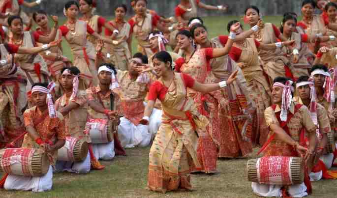 Bihu celebration in Assam