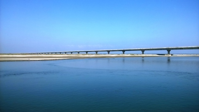 Longest Bridge in India, Bridge on mighty River Brahmaputra, Bogibeel Bridge Dibrugarh Assam, Assam Tourism Operator, Dibru Saikhowa National Park, Dholla Sadiya Bridge at Sadiya Ghat