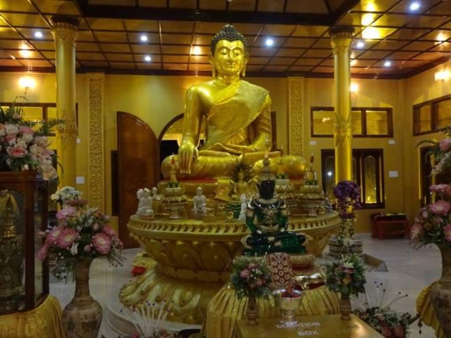 Golden Pagoda Temple Namsai, Choukham Paas, Namsai Temple Arunachal