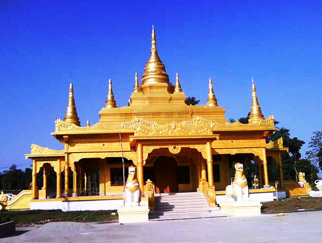Golden Pakkoda Temple, Tengapani Temple Arunachal, Walong Tourism, India China War Walong, Dong Arunachal Pradesh, Assam Tourism