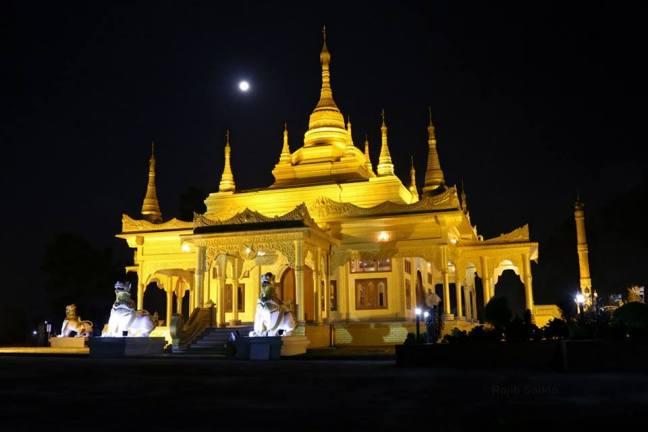 Golden Pakkoda Temple, Tengapani Temple Arunachal, Walong Tourism, India China War Walong, Dong Arunachal Pradesh, Assam Tourism