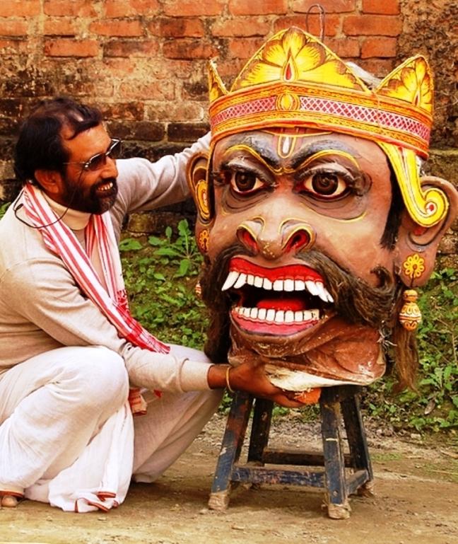Majuli Mask Making, Satras of Majuli Island, Majuli Island Tour, Sivasgar Ahom Kingdom, Jorhat Tea Assam