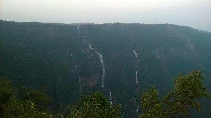 Waterfalls of Meghalaya, Seven Sister Falls Meghalaya, Sohra Waterfalls