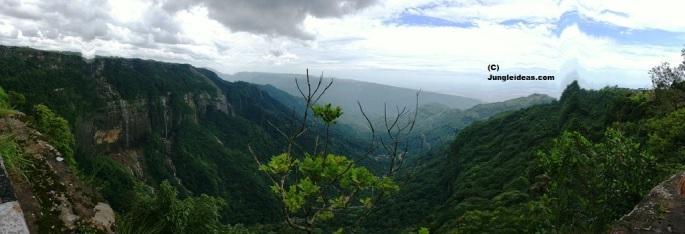 Cherrapunji Tourism, Cherrapunji Waterfalls, Nohkalikai Falls, Seven Sister Falls, Cherrapunji